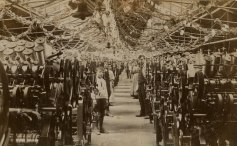 Interior Cotton Mill, Shipley circa 1900.